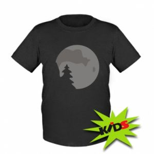 Kids T-shirt Moon