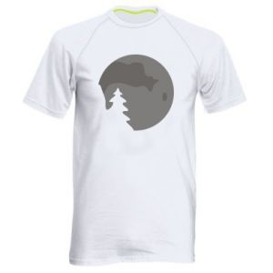 Men's sports t-shirt Moon