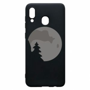 Phone case for Samsung A20 Moon