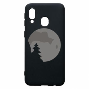 Phone case for Samsung A40 Moon