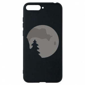 Phone case for Huawei Y6 2018 Moon