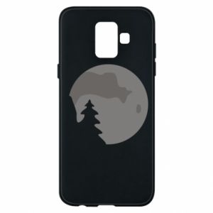 Phone case for Samsung A6 2018 Moon