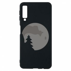 Phone case for Samsung A7 2018 Moon