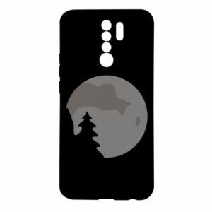 Etui na Xiaomi Redmi 9 Księżyc