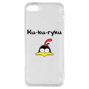 Etui na iPhone 5/5S/SE Ku-ku-ryku - PrintSalon