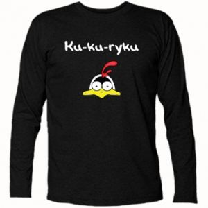 Koszulka z długim rękawem Ku-ku-ryku - PrintSalon