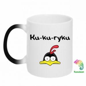 Kubek-kameleon Ku-ku-ryku - PrintSalon