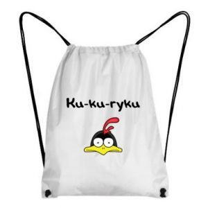 Plecak-worek Ku-ku-ryku - PrintSalon