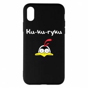 Etui na iPhone X/Xs Ku-ku-ryku - PrintSalon