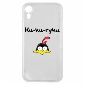 Etui na iPhone XR Ku-ku-ryku