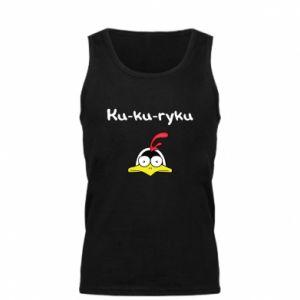 Męska koszulka Ku-ku-ryku - PrintSalon