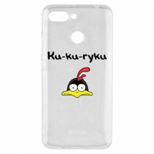 Etui na Xiaomi Redmi 6 Ku-ku-ryku - PrintSalon