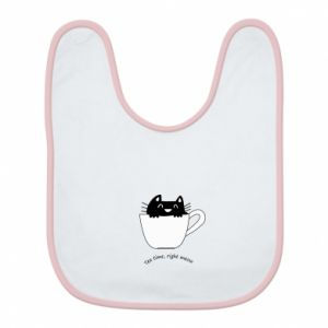 Bib Tea time, right meow - PrintSalon