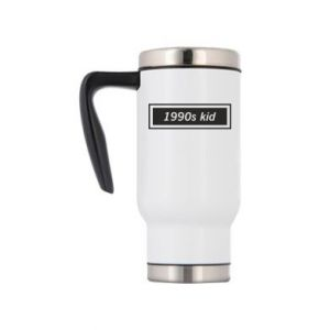 Travel mug 1990s kid