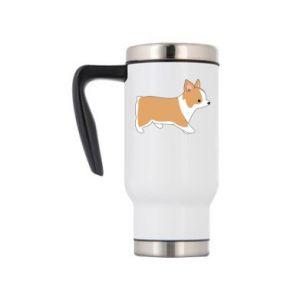 Travel mug Corgi en route