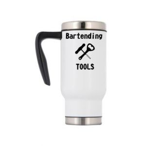 Travel mug Bartending tools