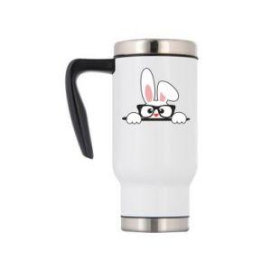 Kubek termiczny Bunny with glasses