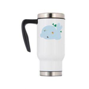 Travel mug Bunny - PrintSalon