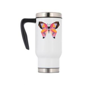 Travel mug Butterfly graphics - PrintSalon