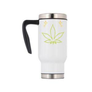 Kubek termiczny Cannabis