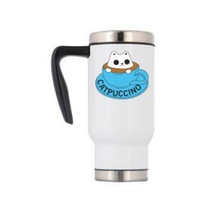 Kubek termiczny Catpuccino