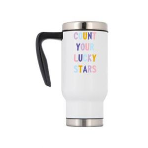 Travel mug Count your lucky stars