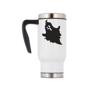Travel mug Crooked face - PrintSalon