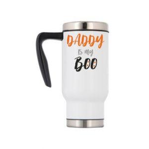 Travel mug Daddy is my boo - PrintSalon