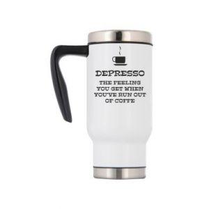 Travel mug Depresso