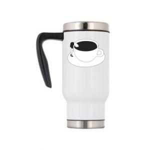 Travel mug Drown in coffee - PrintSalon