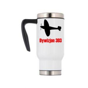 Travel mug Division 303 - PrintSalon