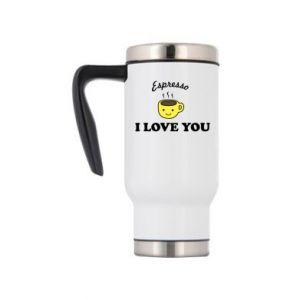 Kubek termiczny Espresso. I love you