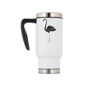 Travel mug Flamingo