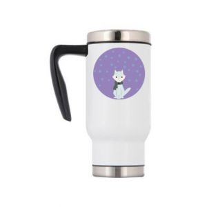 Travel mug Fox