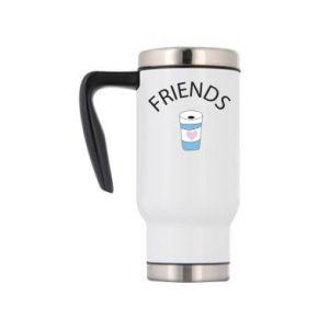 Kubek termiczny Friends coffee