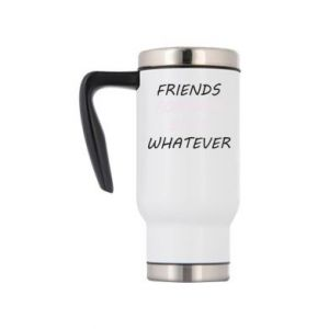 Travel mug Friends forever boys whatever