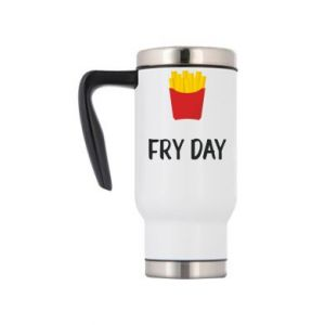 Travel mug Fry day
