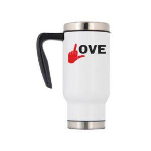 Kubek termiczny Fuck love