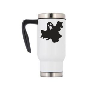 Travel mug Ghost screams - PrintSalon
