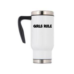 Travel mug Girls rule