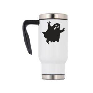 Travel mug Grimace of horror - PrintSalon