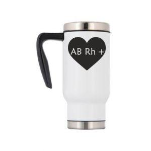 Kubek termiczny Grupa krwi AB+
