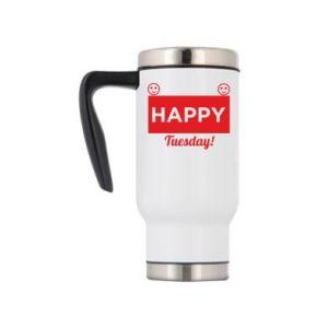 Kubek termiczny Happy Tuesday