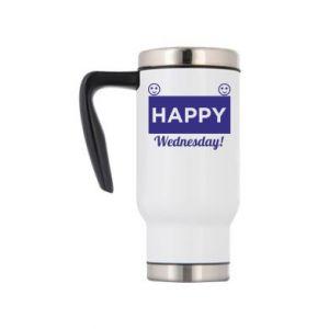 Kubek termiczny Happy Wednesday