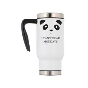 Travel mug I can't bear mondays - PrintSalon