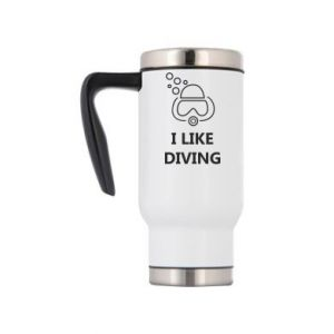 Kubek termiczny I like diving
