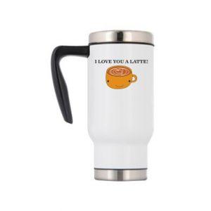 Kubek termiczny I love you a latte