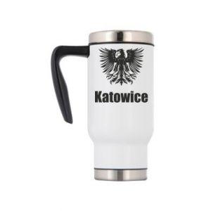 Travel mug Katowice
