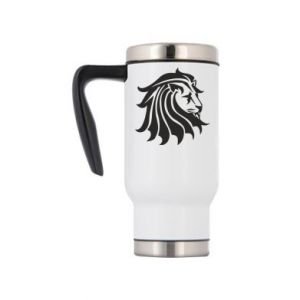 Travel mug Lion