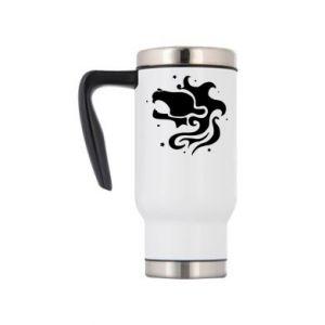 Travel mug Leo